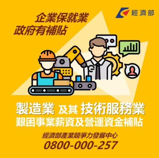 經濟部紓困3.0-薪資及營運資金補貼